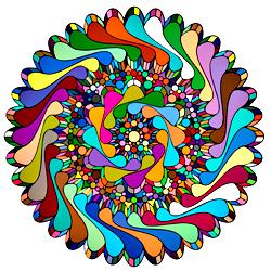Раскраска Мандала-7