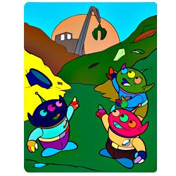 Раскраска Пришельцы